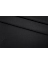 ОТРЕЗ 0,9 М Костюмный полиэстер черный PRT-M4 26041916-1