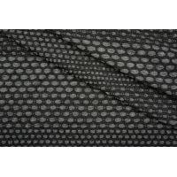 ОТРЕЗ 2.25 М Трикотаж фактурный черно-серый PRT 26041918-1