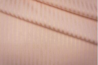 Трикотаж в полоску поливискозный светло-розовый PRT-N2 27041902