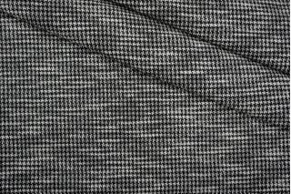 Трикотаж хлопковый пепита бело-черный PRT-O5 27041908