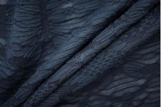 Трикотаж фактурный синий PRT-N3 27041918
