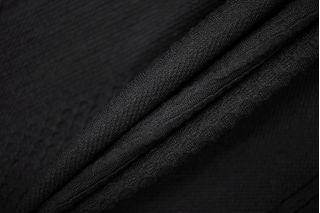 Трикотаж фактурный черный PRT-M3 27041925