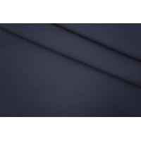 Трикотаж фактурный гусиная лапка синий PRT 27041929