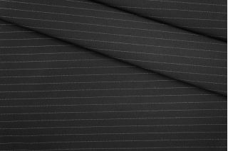 Костюмно-плательная ткань черная в полоску PRT-M4 29051903