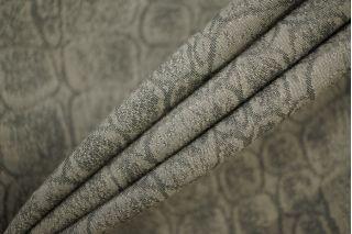 Костюмная поливискоза рептилия серо-бежевая PRT-N2 23041901