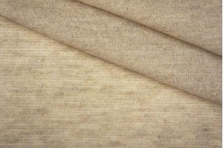 Трикотаж бежевый хлопок со льном PRT-O5 23041923