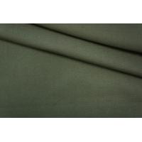 Костюмная вискоза с хлопком зеленая PRT-O4 23041935