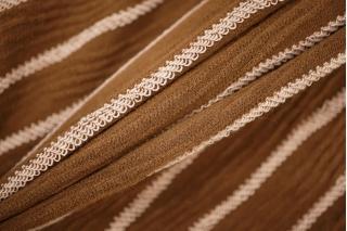 Трикотаж фактурный коричнево-розовый PRT-O3 23041939