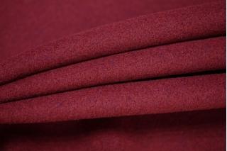 Пальтовый шерстяной велюр вишневый PRT-E2 09081902