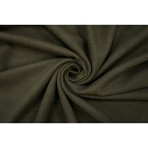 ОТРЕЗ 1,5 М Пальтовый шерстяной велюр темный хаки PRT-C2 09081903-1