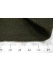 Пальтовый шерстяной велюр темный хаки PRT-EE6 09081903