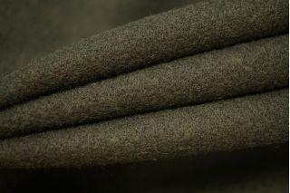 Пальтовый шерстяной велюр темный хаки PRT-С2 09081903