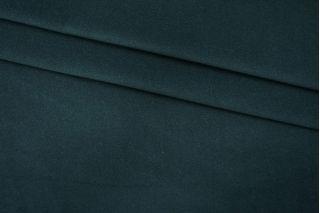 Пальтовый шерстяной велюр темный сине-зеленый PRT 09081904