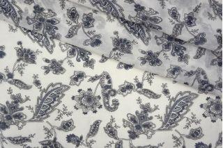 Батист шелковый с хлопком цветы PRT1 113-G3 06061904