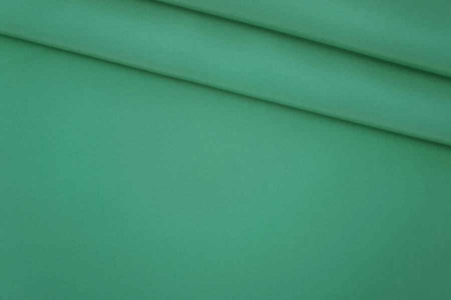Крепдешин тонкий шелковый бирюзовый PRT 118-Н2 07061920