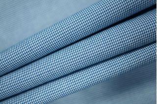 Хлопок пепита сине-белый PRT-H4 28021903