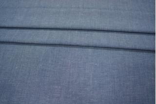 Плательный лен синий PRT-C3 28021904