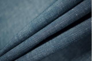 Костюмно-плательный лен синий PRT 055-G6 28021923