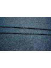 ОТРЕЗ 0,95 М Костюмно-плательный лен синий PRT 055-G6 28021923-1