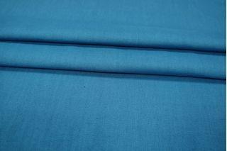 Репс костюмный льняной синий PRT-H5 04031903