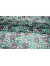 Шифон шелковый цветы PRT-H3 04031913