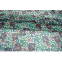Шифон шелковый цветы PRT-G4 04031913