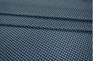 Рубашечный хлопок темно-синий в квадрат PRT-B2 06031905
