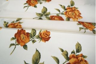 Марлевка в цветок белая PRT-B3 04021903