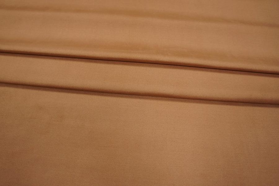 Замша на вискозе коричневая PRT-I2 04021915
