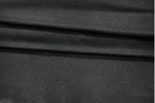 Кожзам на хлопке черный PRT-I3 04021925