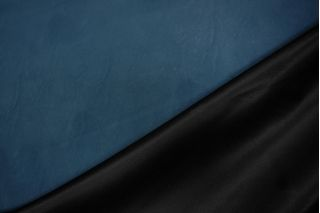 Кожзам тонкий темно-синий PRT-I3 04021926