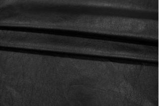 Кожзам на трикотаже черный PRT-I3 04021928