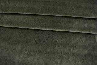 Вельвет костюмный хлопковый хаки PRT 088-E2 06031922