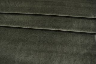 Вельвет костюмный хлопковый хаки PRT1-B7 06031922