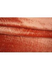 Велюр плательный рыжий терракот PRT-B7 06031924