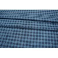 Рубашечный хлопок тонкий в клетку синий PRT-B2 06031929