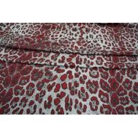 ОТРЕЗ 1,7 М Трикотаж вискозный леопард PRT-A3 11031903-1