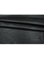 ОТРЕЗ 0,4 М Кожзам на хлопке черный PRT1-I4 04021923-1