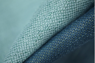 Двусторонняя костюмно-плательная вискоза синяя PRT-H5  05021914