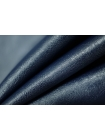 Кожзам-стрейч на хлопке темно-синий PRT-I2 04022029