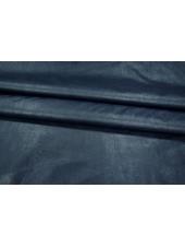 ОТРЕЗ 1,50М Кожзам-стрейч на хлопке темно-синий PRT 028-I4 05021916-1