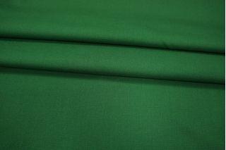 Костюмная шерсть-стрейч насыщенная зеленая PRT-G4 05021920