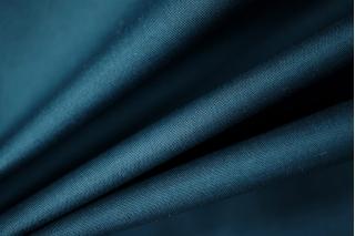 Плащевка хлопковая с мембраной темная сине-бирюзовая PRT1-F7 05021905