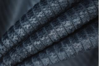 Вельвет хлопковый темно-сизый PRT-I5 06021908