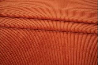 Вельвет костюмный рыжий PRT-I5 06021910