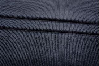 Вельвет хлопковый темно-фиолетовый PRT-I5 06021915
