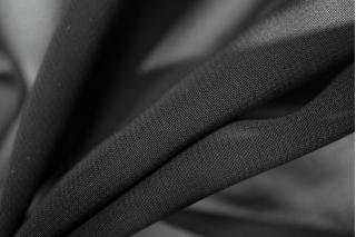 Шифон черный вискозный PRT-F6 11031905