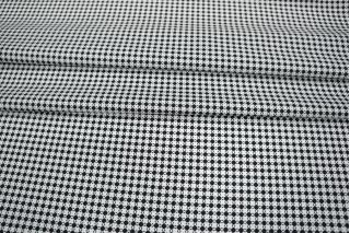 Поплин сорочечный геометрия черно-белая PRT-B2 12031925