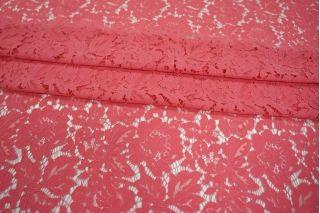 Кружево насыщенный розовый коралл КУПОН PRT-I6 12031928
