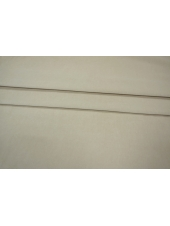 Велюр-стрейч хлопковый слоновая кость PRT-E2 12031930